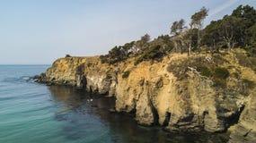 加利福尼亚海岸 免版税库存照片