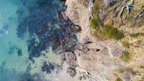 加利福尼亚海岸 库存照片
