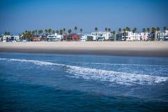 加利福尼亚海滩 免版税库存照片