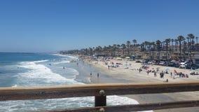 加利福尼亚海滩 库存图片
