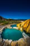 加利福尼亚温泉城桥港加州美国 免版税库存照片