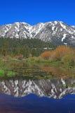 加利福尼亚湖横向tahoe 库存照片