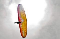 加利福尼亚滑翔伞 免版税库存照片