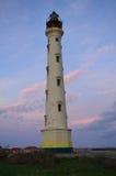 加利福尼亚灯塔在Noord阿鲁巴 免版税库存照片