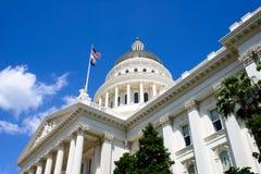 加利福尼亚状态国会大厦 库存照片