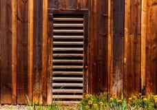 加利福尼亚老远的西部木纹理 免版税库存图片