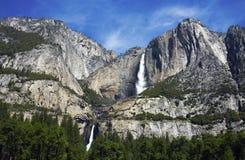 加利福尼亚落国家公园优胜美地 免版税库存照片