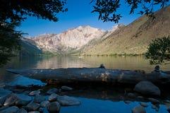 加利福尼亚证明有罪湖 免版税库存图片