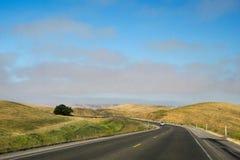 加利福尼亚路 免版税图库摄影