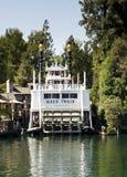 加利福尼亚迪斯尼乐园马克吐温 库存照片
