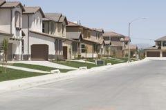 加利福尼亚郊区居民 免版税库存图片