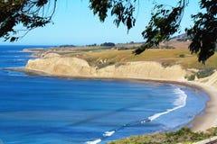 加利福尼亚金黄海岸 免版税库存照片