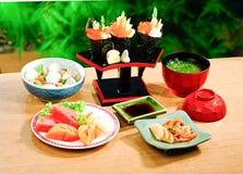 加利福尼亚食物日本人卷 库存图片