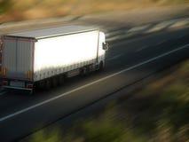 加利福尼亚高速公路卡车美国 免版税库存图片