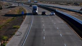 加利福尼亚高速公路卡车美国 股票视频