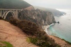 加利福尼亚,美国, 2008 11月19日,桥梁 图库摄影
