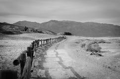 加利福尼亚死亡国家公园谷 免版税库存照片