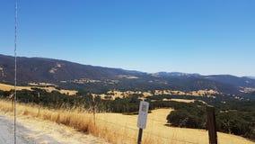 加利福尼亚Backcountry 库存图片