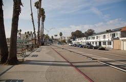 加利福尼亚cruz圣诞老人海滨 免版税图库摄影