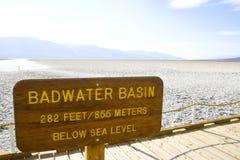 加利福尼亚Death Valley 库存图片