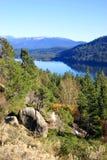 加利福尼亚donner湖 免版税库存照片