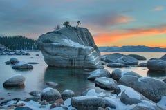 加利福尼亚Tahoe湖 免版税图库摄影