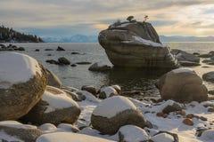 加利福尼亚Tahoe湖 库存图片