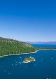 加利福尼亚Tahoe湖 图库摄影