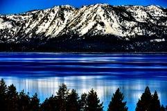 加利福尼亚Tahoe湖 库存照片