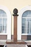 加加林的纪念碑 免版税库存照片