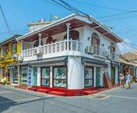 加勒堡垒商店  库存图片