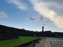 加勒堡垒在斯里兰卡 免版税库存照片