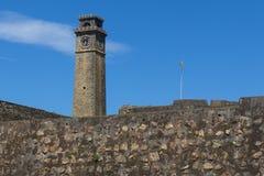 加勒堡垒在斯里兰卡 库存图片