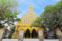加勒堡垒` s卫理公会-斯里兰卡联合国科教文组织世界遗产名录 免版税库存照片