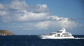 加勒比乘快艇 免版税库存照片