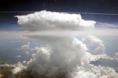 加勒比云彩 库存照片