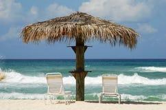 加勒比假期 库存照片