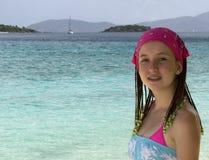 加勒比假期 库存图片