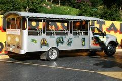加勒比公共汽车 库存图片