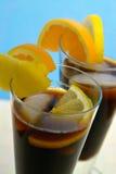 加勒比变冷的咖啡 库存图片