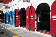 加勒比商店 免版税图库摄影