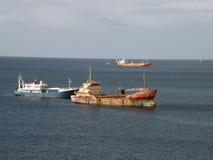 加勒比场面 免版税库存照片