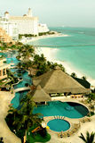 加勒比墨西哥手段 免版税库存照片