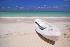 加勒比复制皮船空间 库存照片
