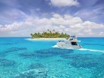 加勒比天堂 免版税库存图片