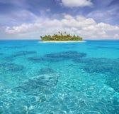 加勒比天堂 免版税库存照片