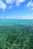 加勒比天际 库存图片