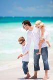加勒比家庭度假 免版税库存图片