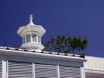 加勒比屋顶 库存图片