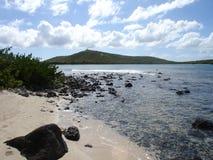 加勒比岛天堂波多里哥 免版税图库摄影